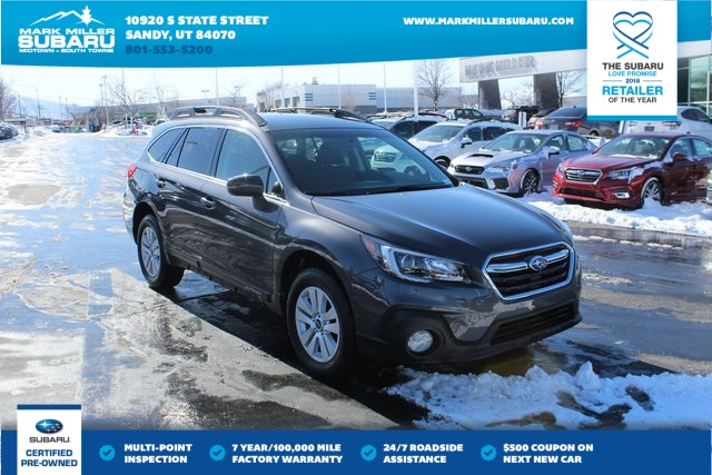 Certified Pre Owned 2018 Subaru Outback 2 5i 4d Sport Utility In