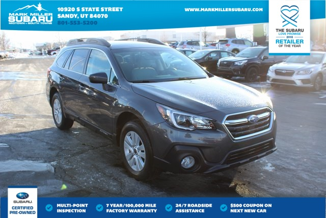 Certified Pre Owned 2019 Subaru Outback 2 5i 4d Sport Utility In