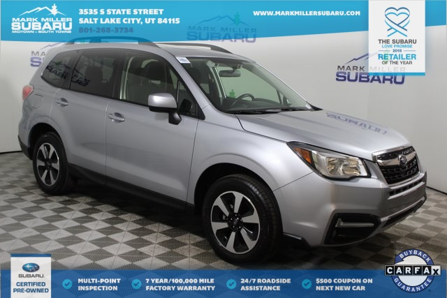 Certified Pre Owned 2018 Subaru Forester 2 5i Premium 4d Sport