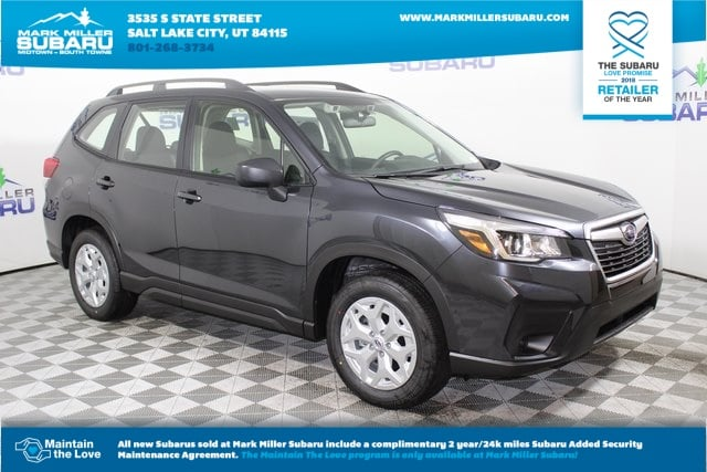 New 2019 Subaru Forester Standard Suv In Salt Lake City 19300860