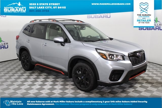 New 2019 Subaru Forester Sport Suv In Salt Lake City 19301040
