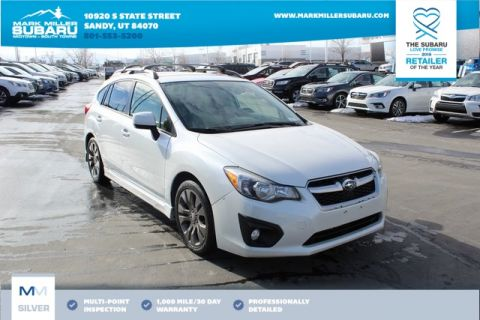 Pre-Owned 2012 Subaru Impreza 2.0i Sport Limited